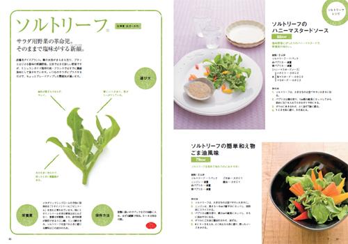 農家の台所レシピ本ソルトリーフのページ