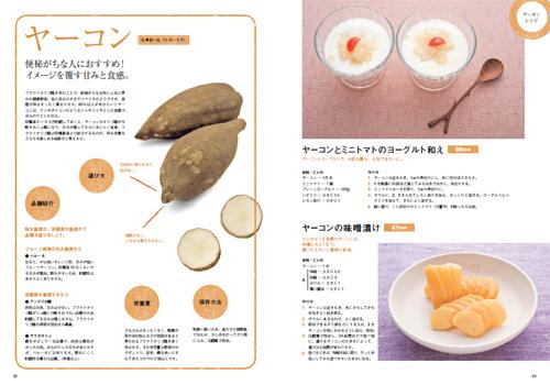 農家の台所レシピ本ヤーコンのページ
