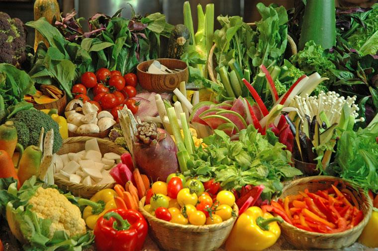 農家の台所 名物 サラダバー
