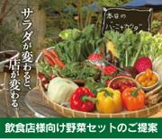 飲食店様向け野菜セットのご提案